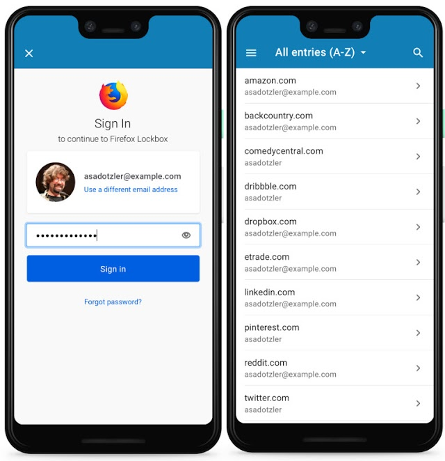 Mozilla launched Android password manager