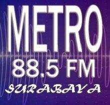 Metro FM 88,5 Mhz Surabaya