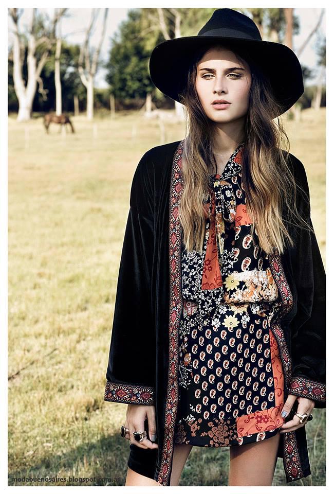 Moda invierno 2016 ropa de mujer Sans Doute. Moda invierno 2016.