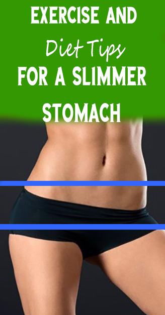 diet tips for slimmer stomach