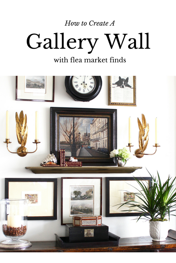 Project Design: Vintage Gallery Wall Completed! - Classic Casual Home