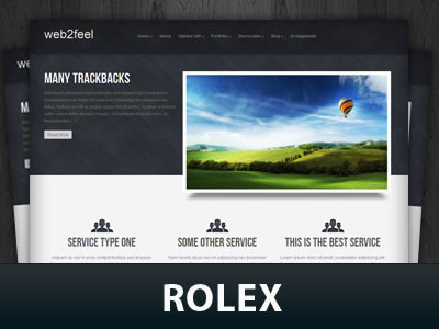 Rolex WordPress Theme