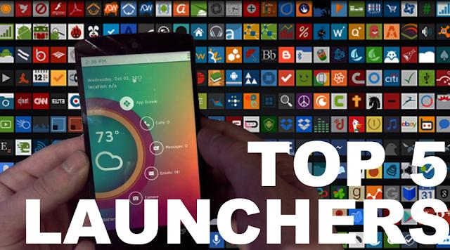 5 Launcher Android Berlebel Premium Yang Akan Memperkeren Androidmu