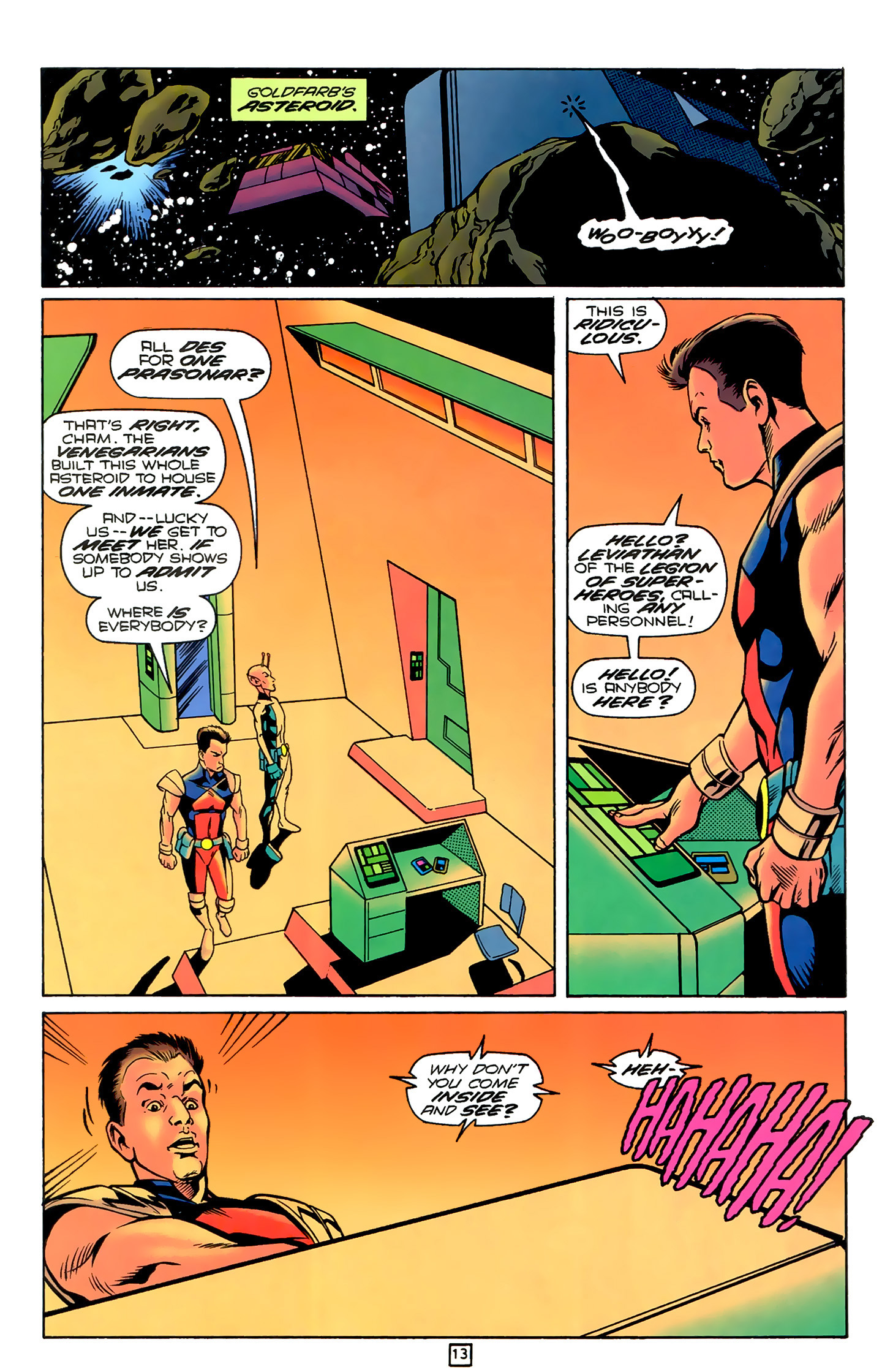 Legion of Super-Heroes (1989) 78 Page 13