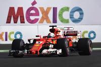 Sebastian Vettel Ferrari Grand Prix Meksyku