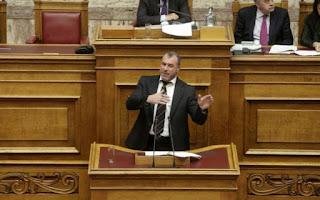 Ο ανεξάρτητος βουλευτής Νίκος Μίχος στο κόμμα του Καρατζαφέρη