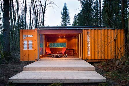 Shipping container homes cargotecture by hybrid for Find builders in your area