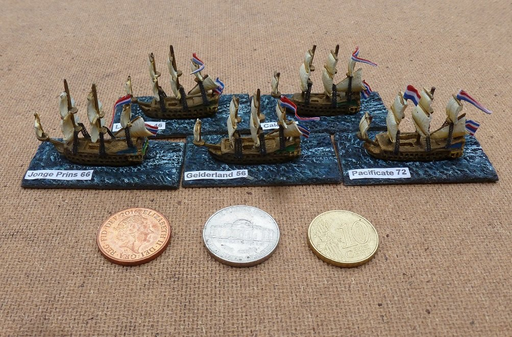 10mm Wargaming: Anglo Dutch Naval Wars from Spithead Miniatures