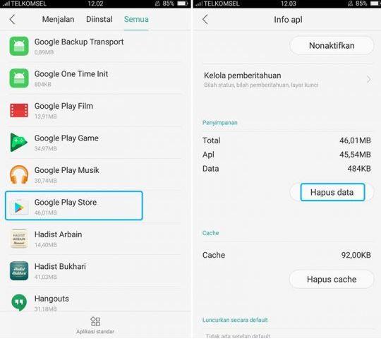 Cara Memperbaiki Aplikasi Android Rusak