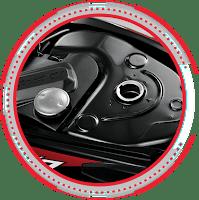 Tangki bensin 4,0 L dengan tempat penutup bensin HONDA REVO FI SW Nagamas Motor Klaten