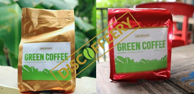 green coffee kopi hijau