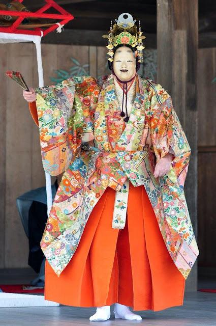Toka-sai (spring dance festival), Miyajima Shrine, Hiroshima