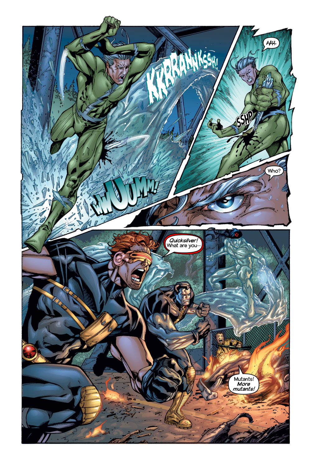 Read online Ultimate X-Men comic -  Issue #1/2 - 5
