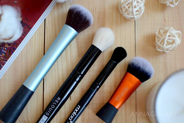 Кисть для макияжа Кисти Relouis Pro малая мультифункциональная кисть