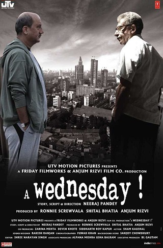 A Wednesday 2008 Hindi 750MB BluRay 720p