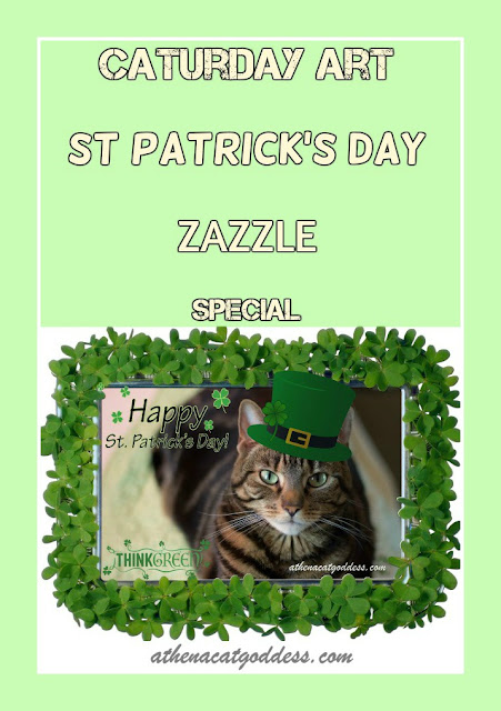 Caturday Art St Patrick's Day Zazzle Special