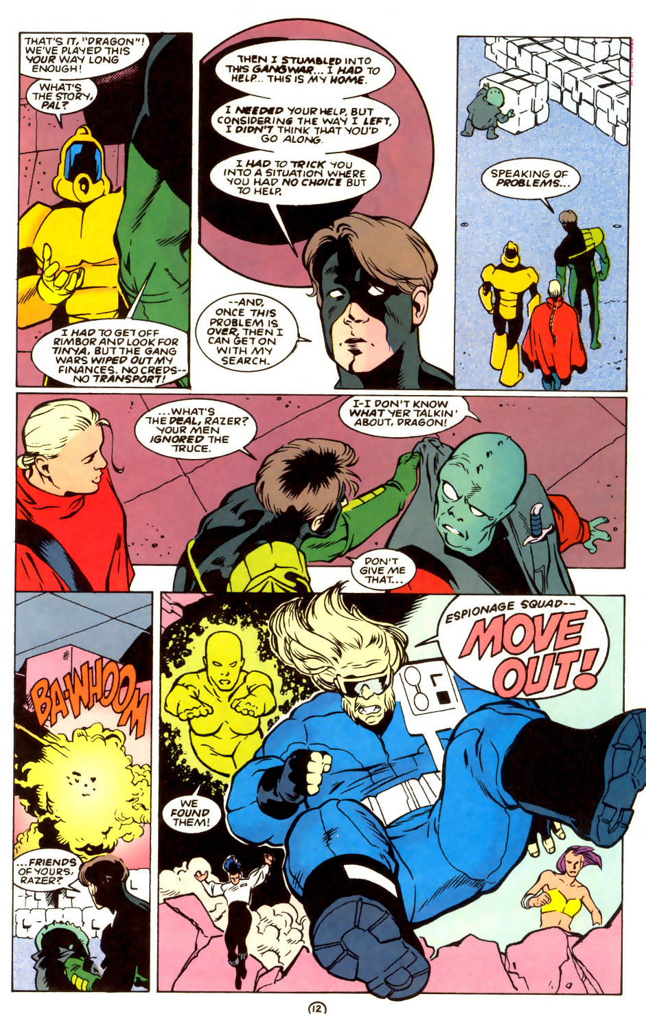 Legion of Super-Heroes (1989) 56 Page 12