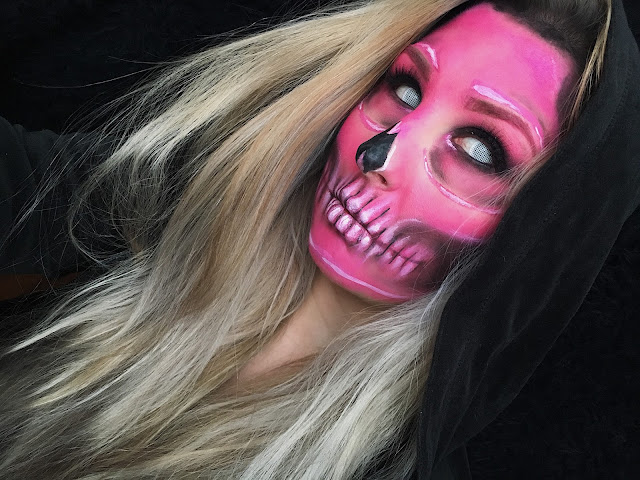 HALLOWEEN WEEK | Neon Skull | Day 2 |  HALLOWEEN 2017