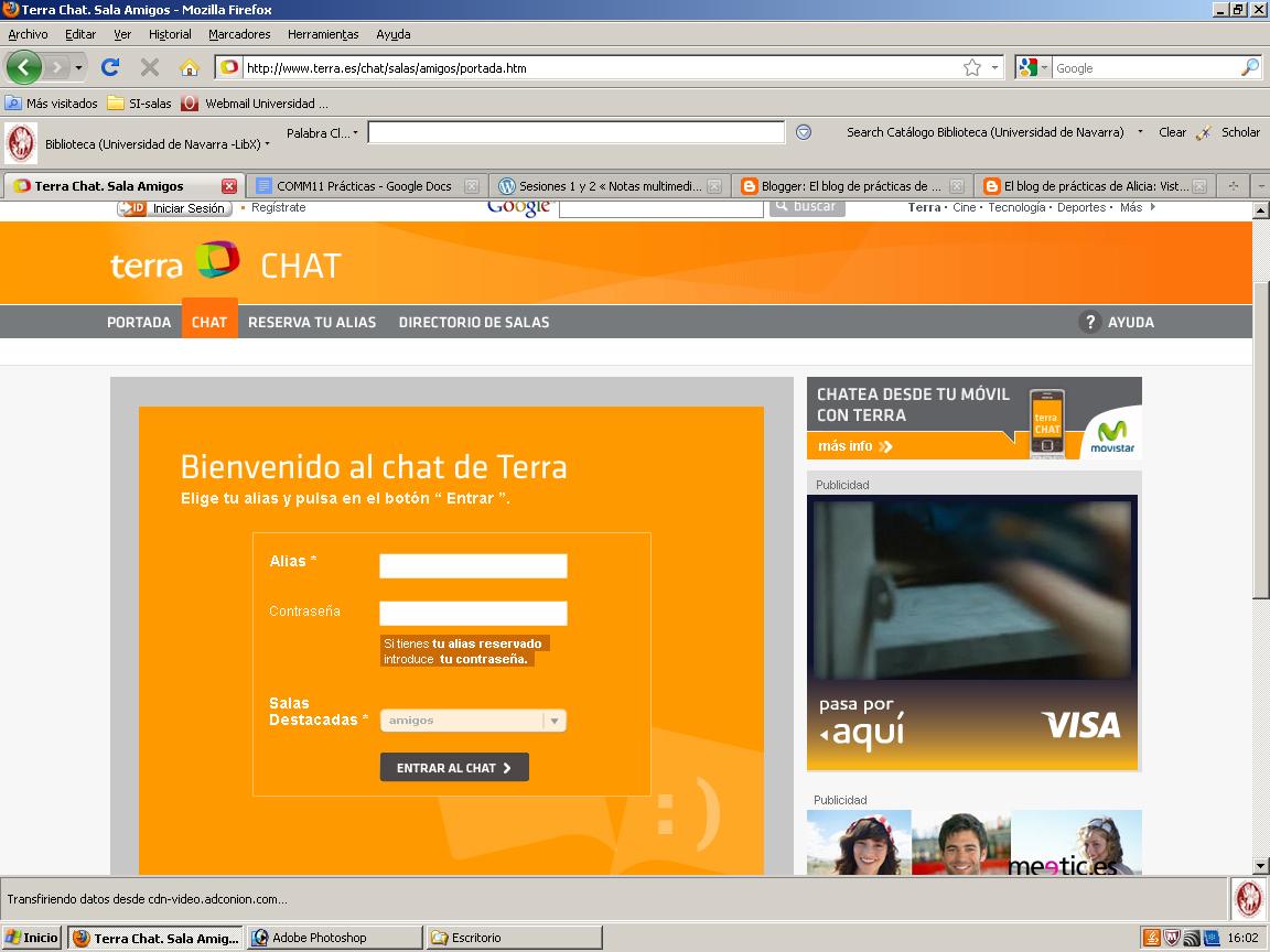 www terra es chat amigos