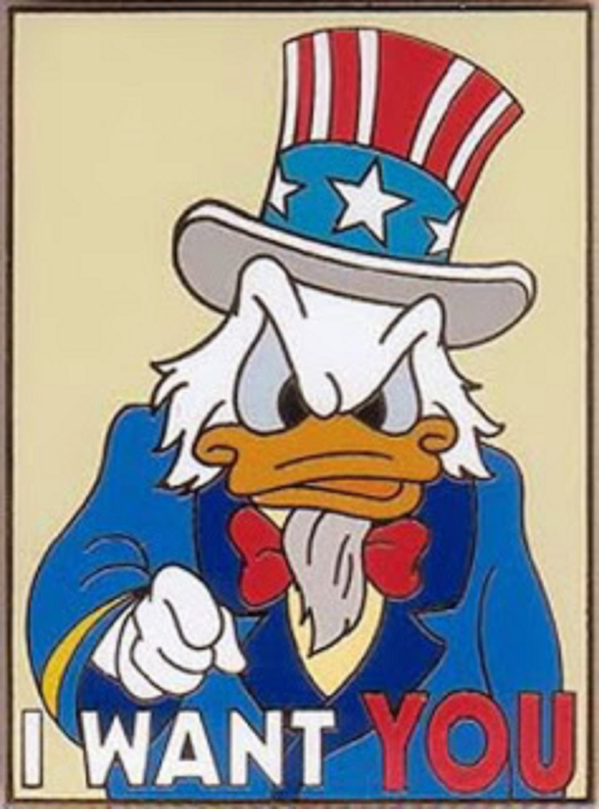 UNCA DONALD WANTS YOU