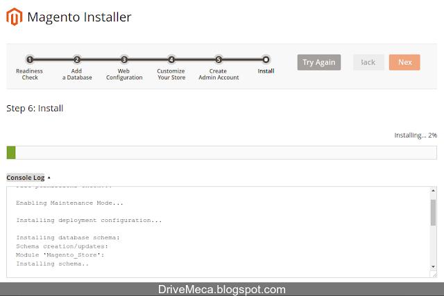 DriveMeca instalando y configurando Magento 2 en Linux Ubuntu Xenial Server