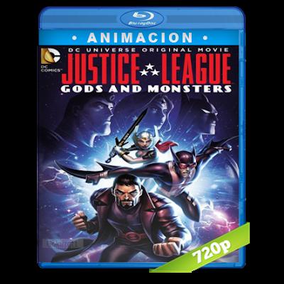 Liga De La Justicia Dioses Y Monstruos (2015) BRRip 720p Audio Dual Latino-Ingles 5.1