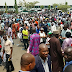 MPNAIJA GIST:Photos  Youths in Abuja stage welcome back rally for President Buhari