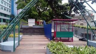 Pemkot Bandung Resmikan Skywalk Cihampelas - Teras Cihampelas