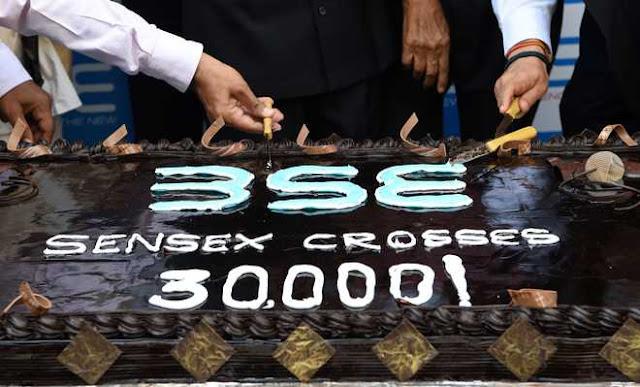 BSE Sensex reach 30,000