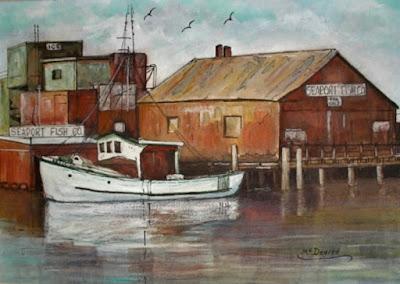 watercolor by artist, Liz McDevitt