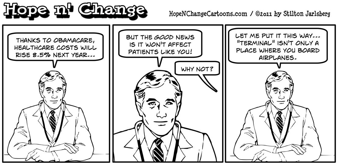 Obamacare is adding to healthcare cost increases of 8.5% in 2012, hopenchange, hope and change, hope n' change, stilton jarlsberg
