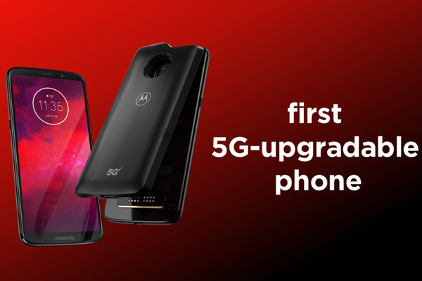 Motorola announces world's first 5G-upgradable smartphone, the Moto Z3