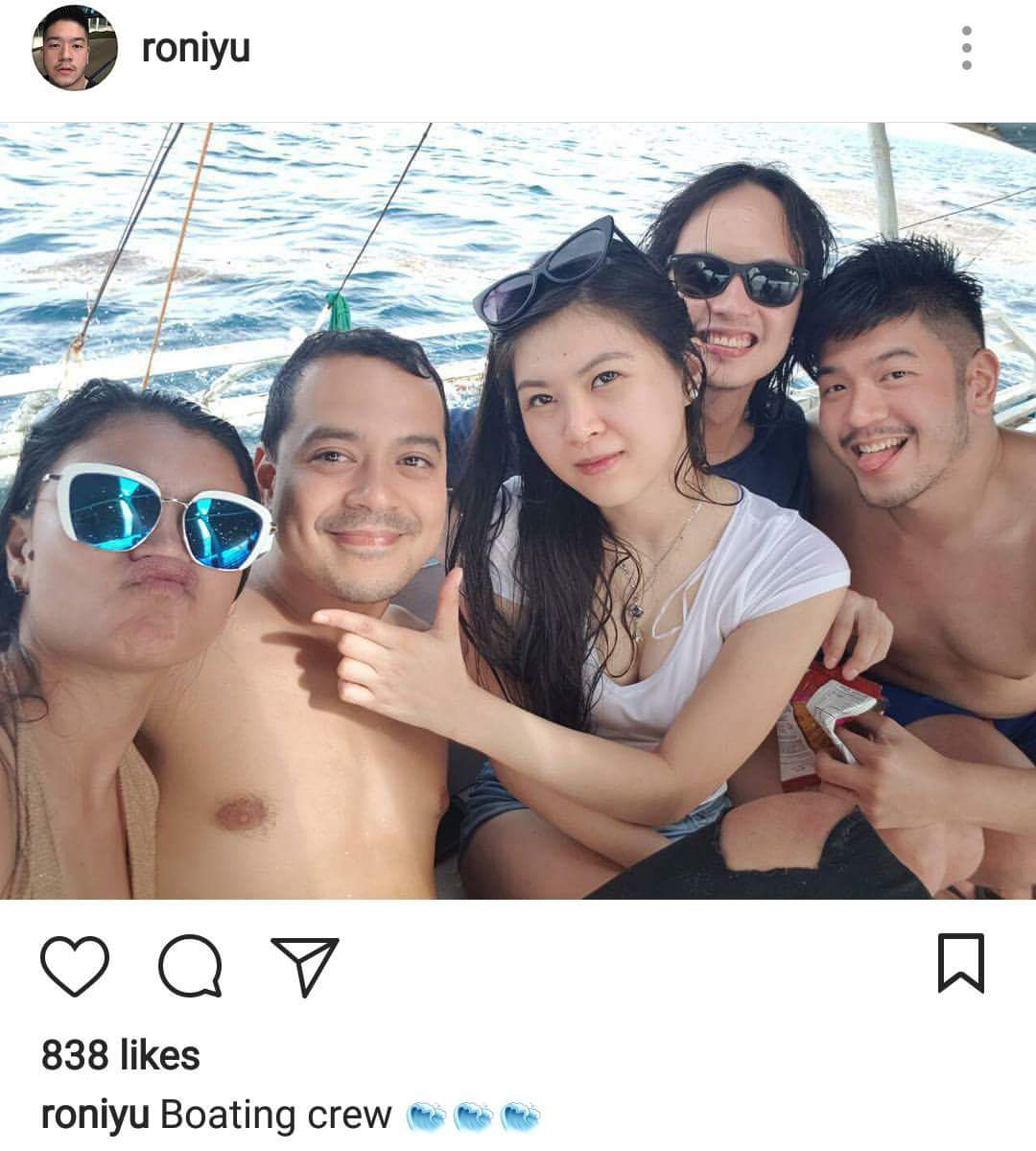 John Lloyd Cruz and Ellen Adarna in Cebu