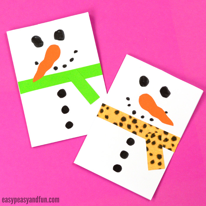 Christmas Ideas For Kids Cards.20 Simple Christmas Cards Kids Can Make The Joy Of Sharing