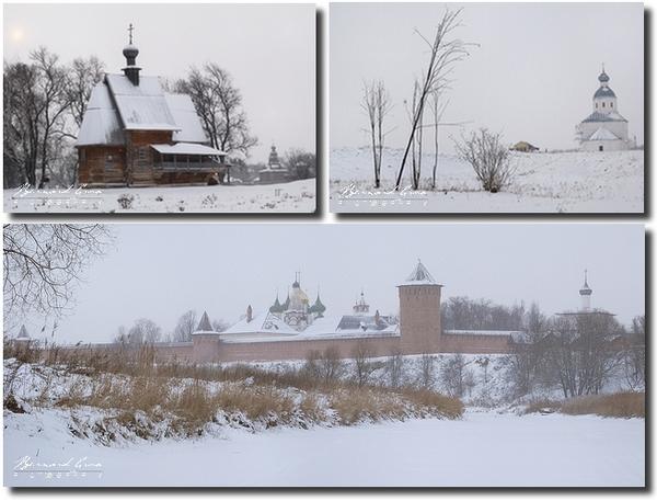 Bernard Grua, Souzdal, anneau d'or sous la neige, Russie