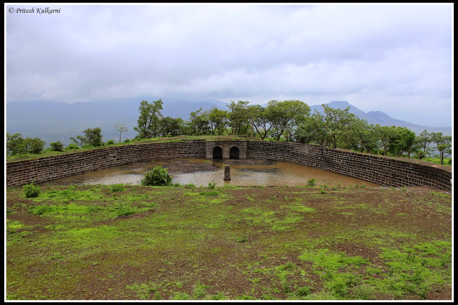 Badami water tank