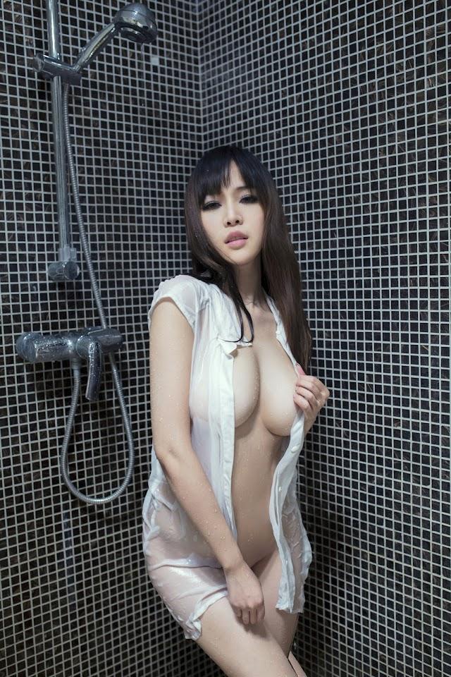 Sexy Chinese Girl: Wet Big Tits: TuiGirl No.030 Model 张优Ayoyo