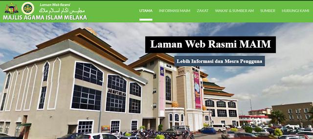 Rasmi - Jawatan Kosong di (MAIM) Majlis Agama Islam Melaka 2019