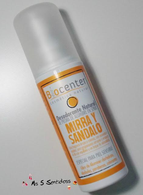 Biocenter desodorante