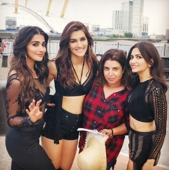 #instamag-kriti-sanon-pooja-hegde-and-kriti-kharbanda-in-london-for-housefull4
