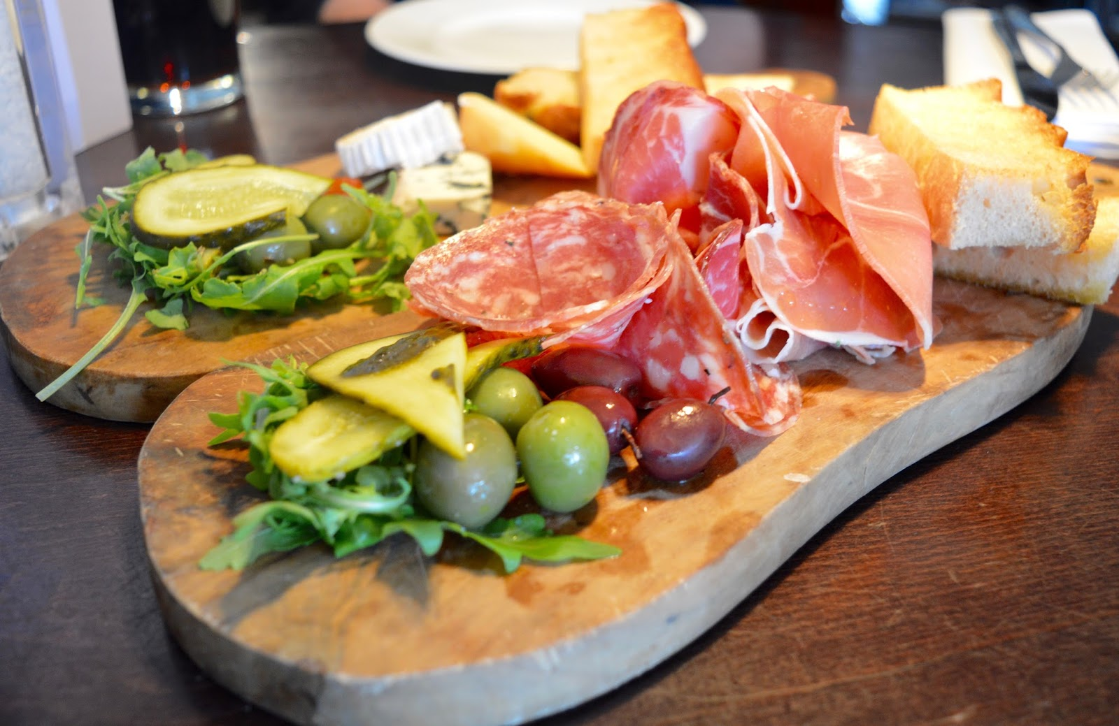 Comfort Food for Autumn at Gusto, Newcastle Quayside   A Review - Meat and Cheese Deli Board