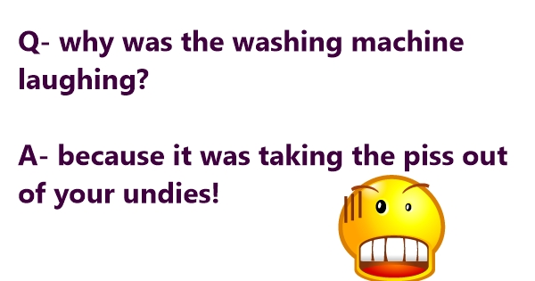 funny washing machine jokes