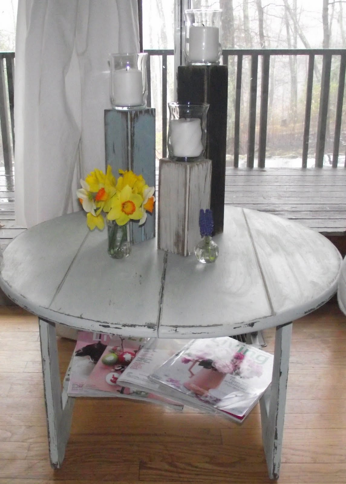 Serendipity Chic Design: Beach house coffee table