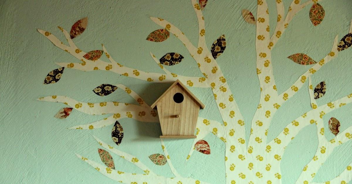 meinkleinbullerb tapetenbaum selber machen tipps und eine kleine anleitung. Black Bedroom Furniture Sets. Home Design Ideas