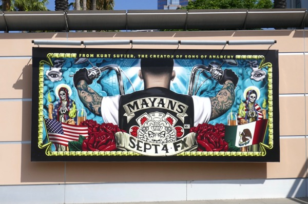 Mayans MC TV series billboard
