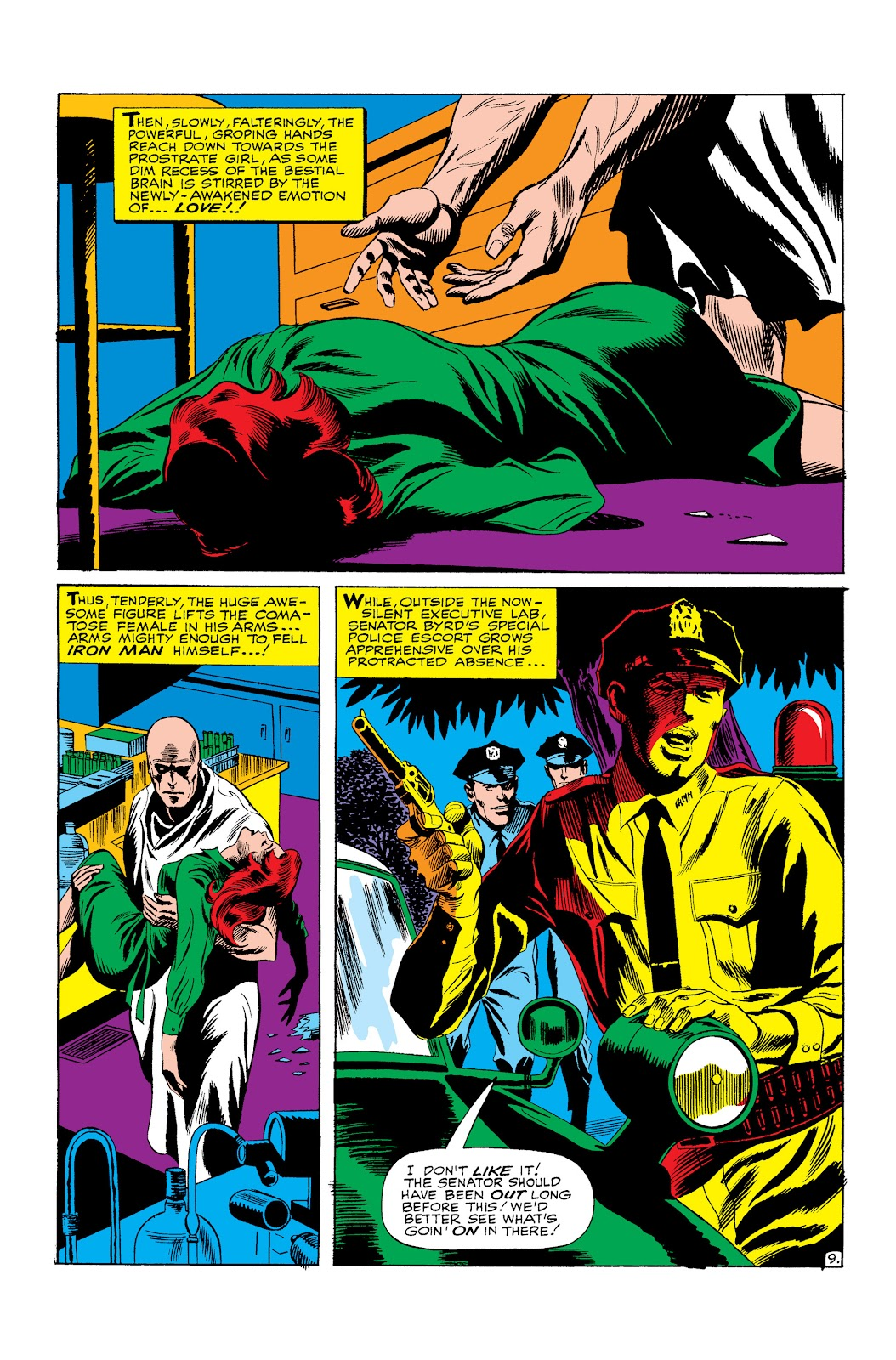 Read online Marvel Masterworks: The Invincible Iron Man comic -  Issue # TPB 3 (Part 3) - 19
