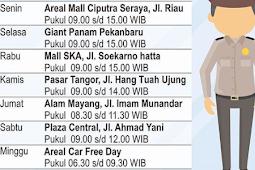 Jadwal Samsat Keliling Pekanbaru Oktober 2018