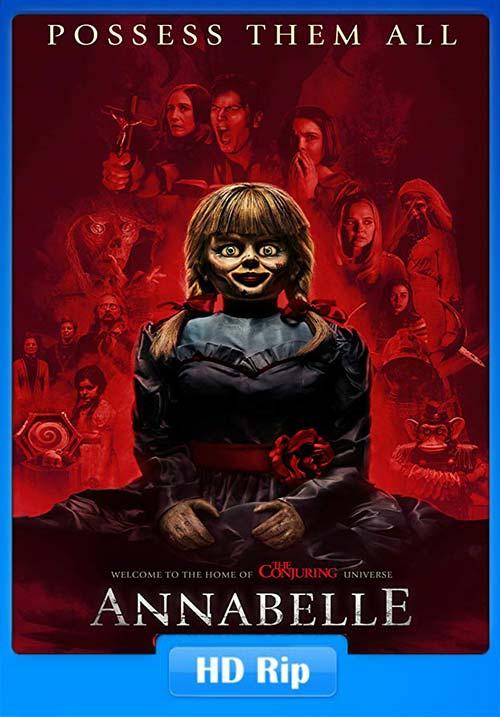 Annabelle Comes Home 2019 720p HDRip Hindi Tamil Telugu Eng ESub | 480p 300MB | 100MB HEVC Poster