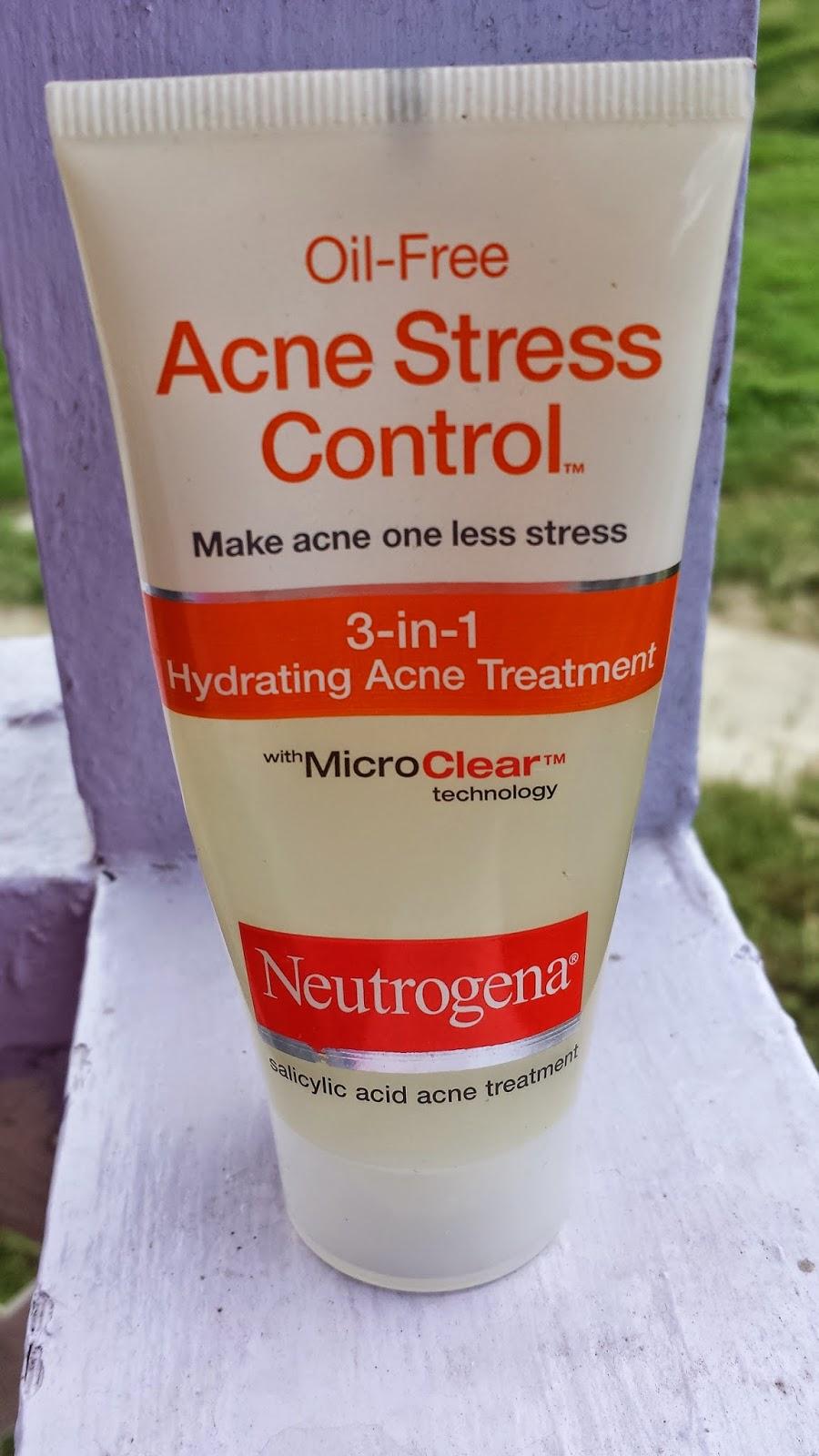Neutrogena Acne Stress Control 3-in-1 Hydrating Acne Treatment - www.modenmakeup.com