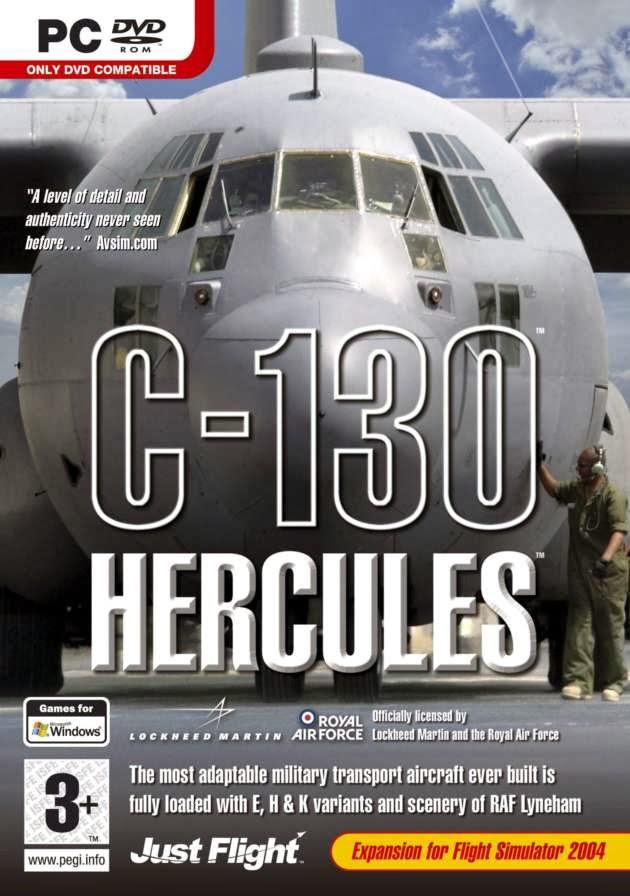 Microsoft Flight Simulator X: Just Flight C-130 Hercules (1 DVD